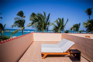 Colonial Club Colonial Junior Suite Ocean Front (Outdoor Jacuzzi) - Hotel Majestic Colonial Punta Cana
